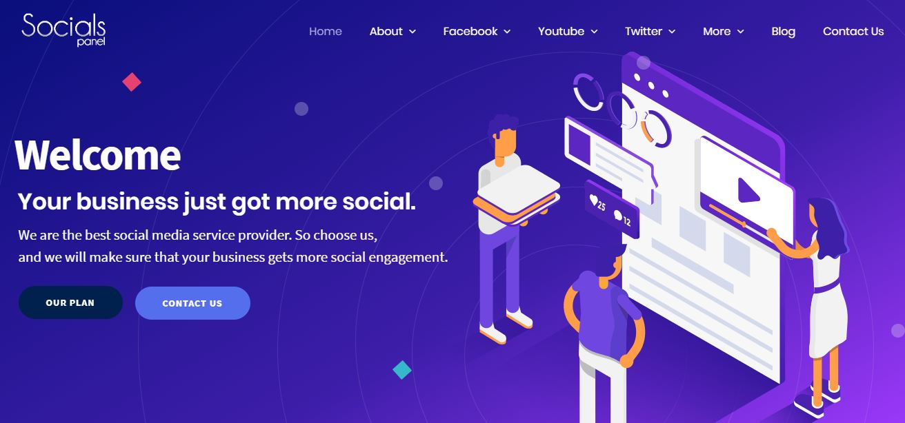 about socialspanel